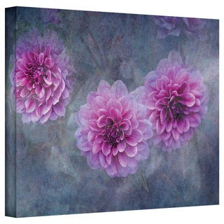 David Liam Kyle 'Beauty in Purple' Gallery-Wrapped Canvas