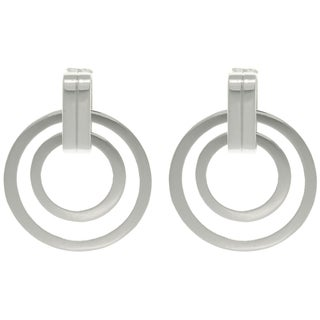 Carolina Glamour Collection 'Ultra Style' Double Circle Earrings