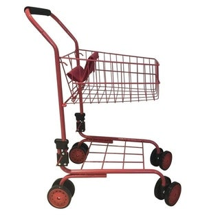 The New York Doll Collection Pretend Play Kids Shopping Cart