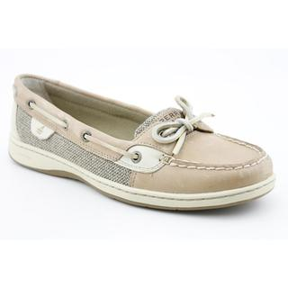 Womens Sperry Top-Sider Angelfish Eyelet Boat Shoe, Tan, at
