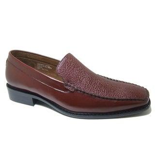 Delli Aldo Men's Slip-on Textured Loafers