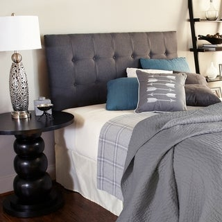 Humble + Haute Sussex Charcoal Queen Upholstered Headboard