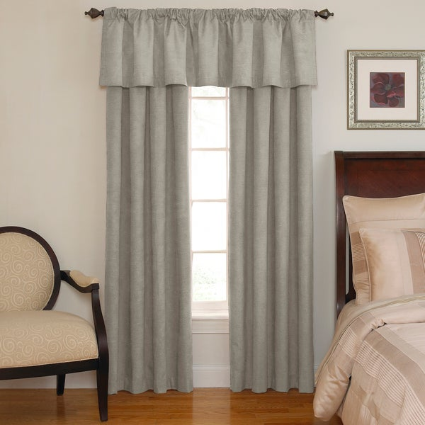 Sound Asleep Room Darkening Grey Curtain Collection Overstock Shopping Great Deals On Curtains