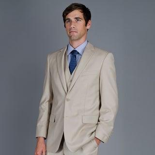 Men's 2-Button Vested Suit