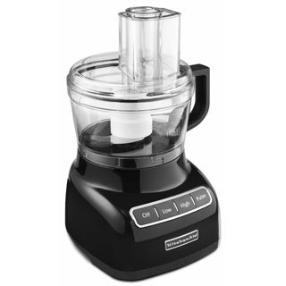 KitchenAid RKFP0711OB Onyx Black 7-cup Food Processor