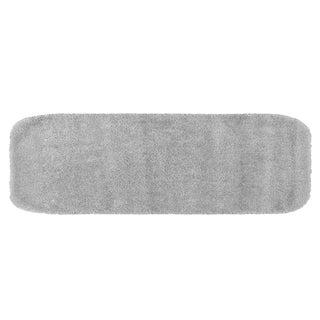 Somette Plush Deluxe Frost Grey 22 x 60 Bath Runner