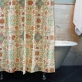 Esprit Spice Print Shower Curtain