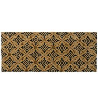 Rubber-Cal Classic Fleur de Lis French Door Mat (24 x 57)