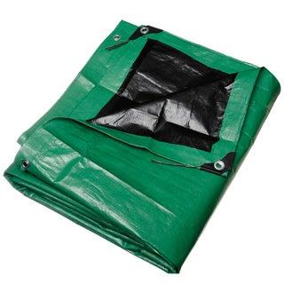 Black and Green Heavy Duty Tarp