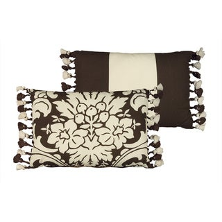 Rose Tree 'Dylan' 11x15 Reversible Floral Decorative Pillow