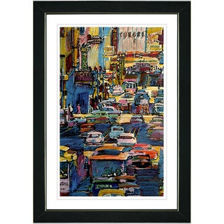Studio Works Modern 'Zukors Market Street' Framed Print