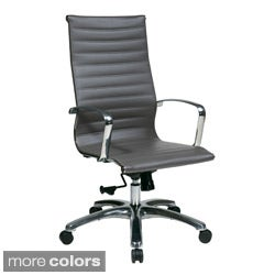 Office Star Products High Back Eco Leather Chair