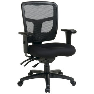 Office Star Pro-Line II Breathable ProGrid Ratchet Back Office Chair