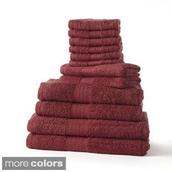 Cotton 12-piece Towel Set with Bath Sheets
