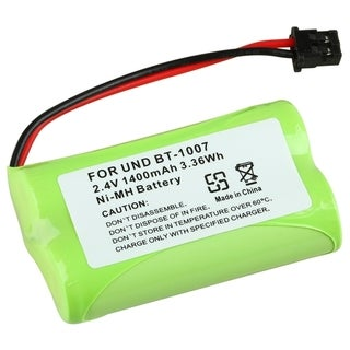INSTEN Ni-MH Batteries for Uniden BT-1007 Cordless Phone (Pack of 2)