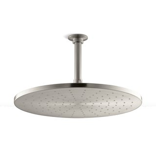Kohler Contemporary Brushed Nickel 14-inch Round Rain Head