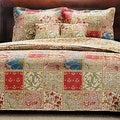 Kismet 100-percent Cotton 3-piece Quilt Set