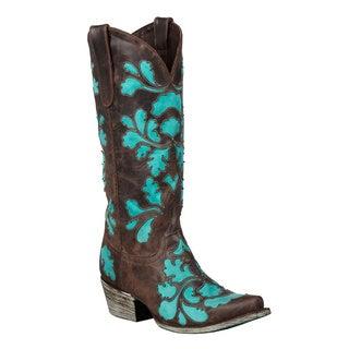 Lane Boots Women's 'Damask' Cowboy Boots