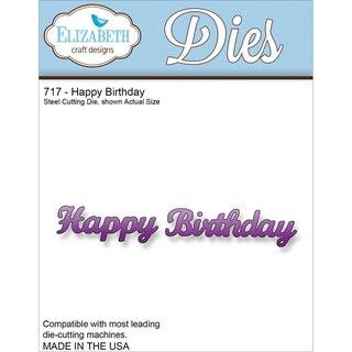 Elizabeth Craft Metal Die-Happy Birthday