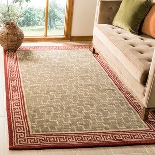 Martha Stewart Byzantium Sealing Wax Wool Rug (5'x 8')