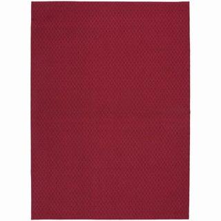 Somette Ashton Crimson Area Rug (7'6 x 9'6)