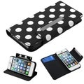 BasAcc Book-Style MyJacket Wallet With Card Slot for Apple iPhone 5