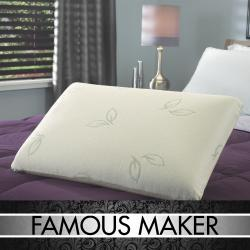 Famous Maker Dual Support Reversible Memory Foam/ Latex Foam Pillow