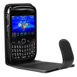 Leather Case/ Screen Protector/ Headset for BlackBerry Curve 9300