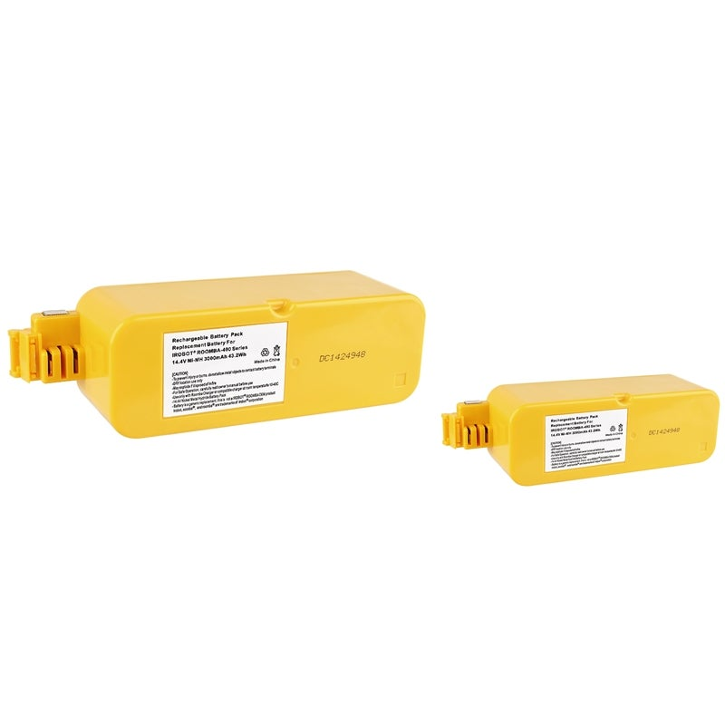 Ni-MH Battery for iRobot Roomba 400 (Pack of 2)