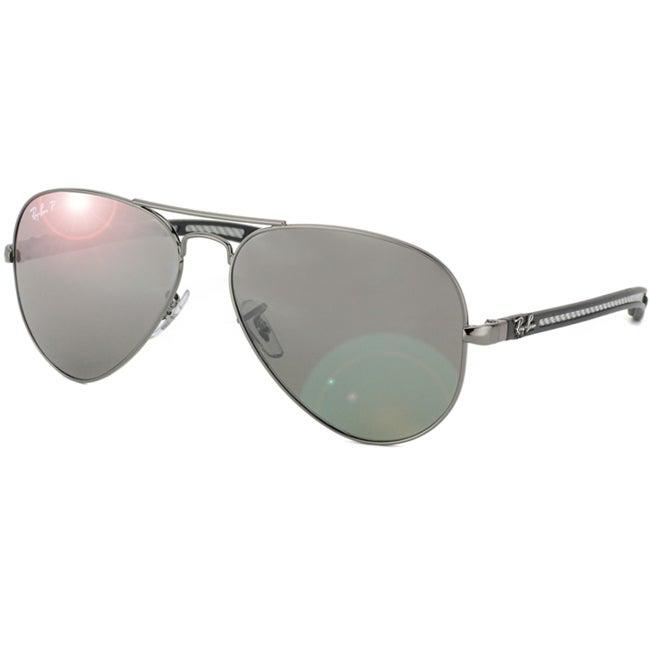 Ray-Ban Unisex RB 8307 Carbon Fiber Aviator Sunglasses