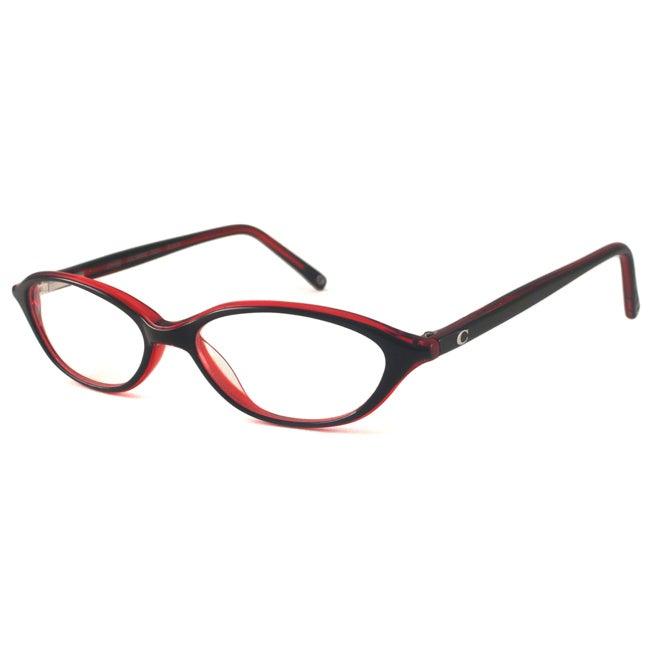 Coach Readers Women's Julianne Black Oval Reading Glasses