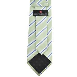 Republic Men's Silk Pinstriped Neck Tie