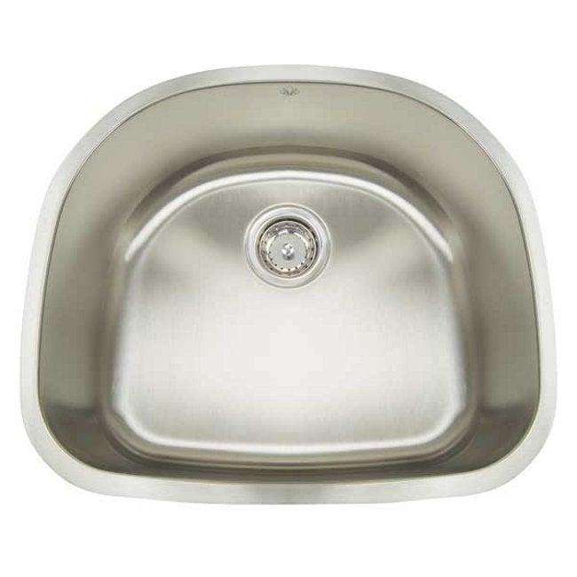 Artisan Premium Collection 16-gauge Stainless Steel 23-inch Undermount Single Basin Kitchen Sink