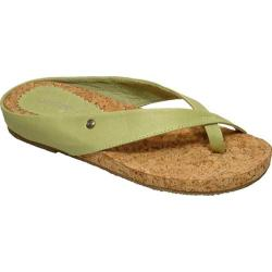 Women&#39;s Cudas Kiki Green Leather/Cork