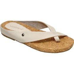Women&#39;s Cudas Kiki White Leather/Cork