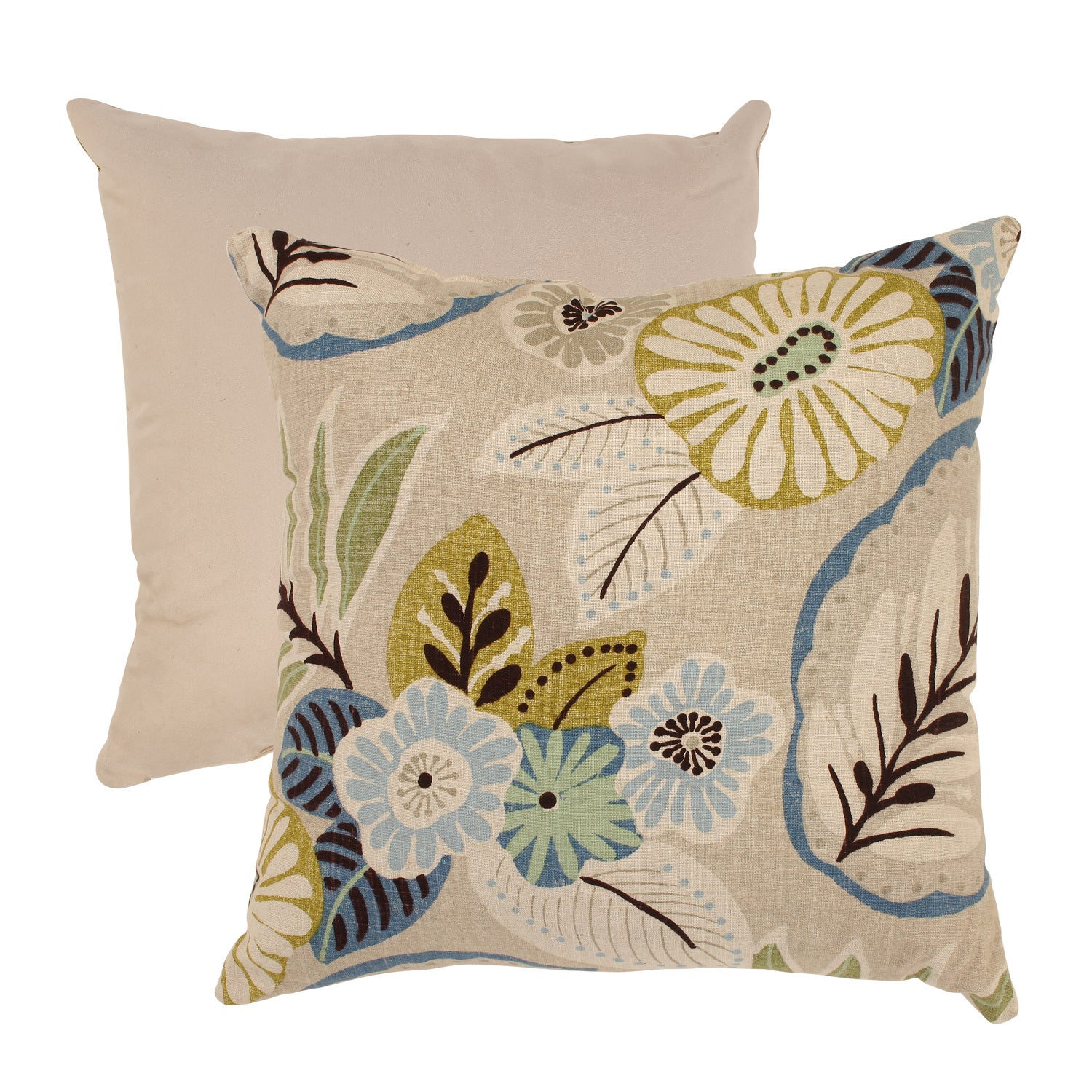 Pillow Perfect Tropical 18-inch Throw Pillow