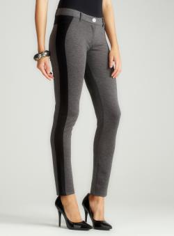 Romeo & Juliet Couture Tuxedo Stripe Ponte Pant