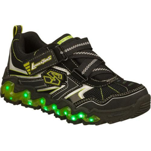 Boys' Skechers Luminators Nova Wave Black/Green