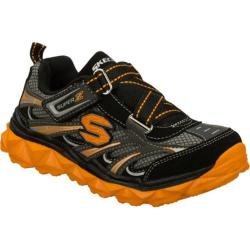 Boys' Skechers Mighty Flex Black/Orange