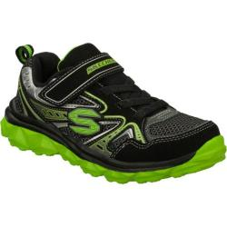Boys' Skechers Mighty Flex Hustle Black/Green