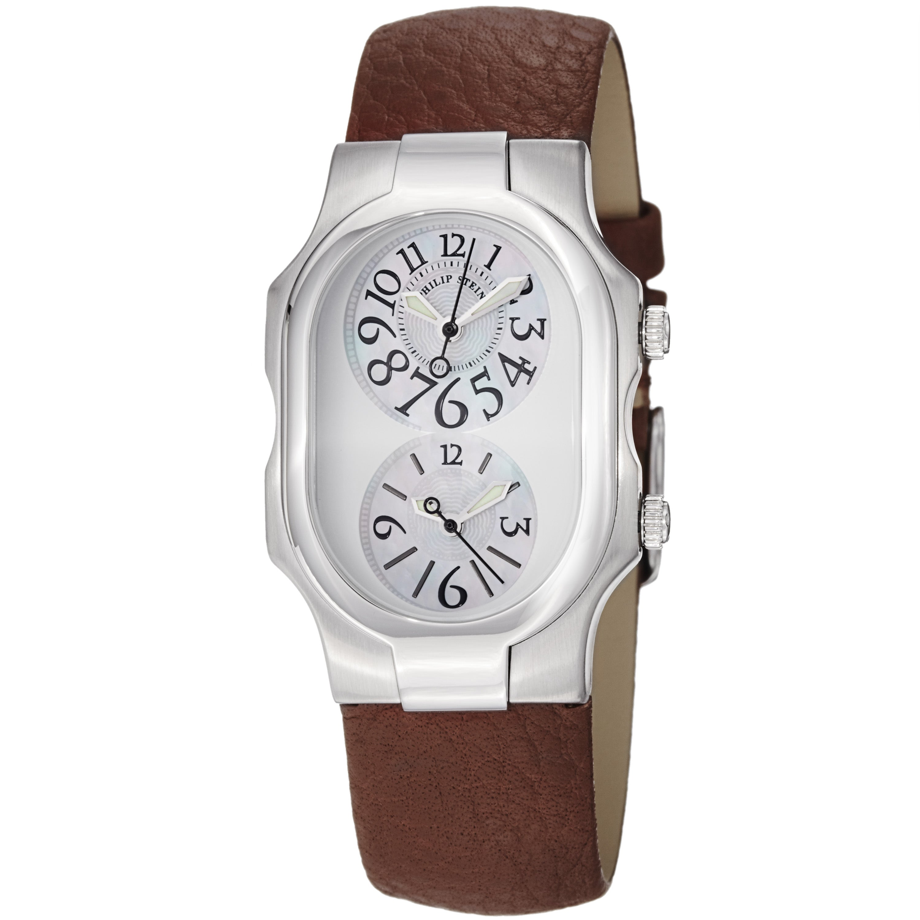 Eziba Collection Philip Stein Women's 'Signature' Mother of Pearl Dial Quartz Watch at Sears.com