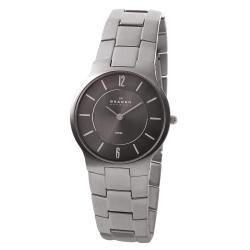 Skagen Men's Stainless Steel Grey Dial Watch