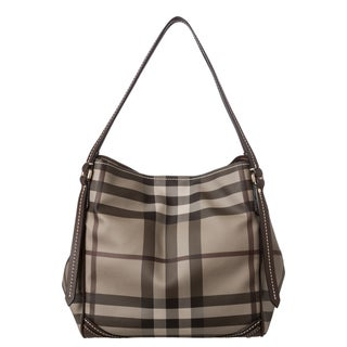 Burberry Small Smoked Check Canterbury Tote