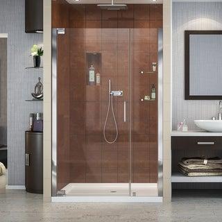 DreamLine Elegance 42 1/2 to 44 1/2-inch Frameless Pivot Shower Door
