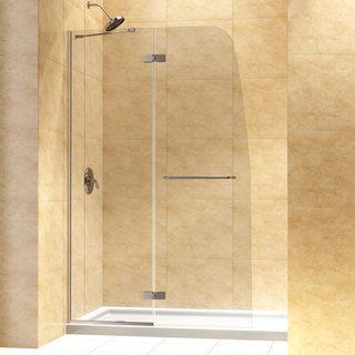 DreamLine Aqua Ultra 45-inch Frameless Hinged Shower Door