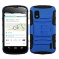 BasAcc Dark Blue/ Black Case with Stand for LG E960 Nexus 4