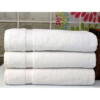 Cambridge Jumbo Bath Sheet Luxury Turkish Cotton Towel (Set of 3)