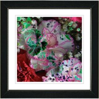 Studio Works Modern 'Royal Carnations - Celebration Red' Framed Art Print