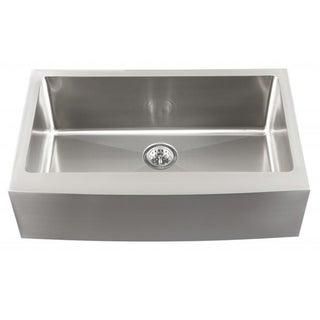 Schon Undermount 16-Gauge Stainless Steel Apron Front Single Bowl Kitchen Sink