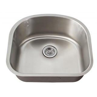 Schon Undermount 18-Gauge Stainless Steel Single Bowl Kitchen Sink